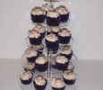Bounty cupcakes chocolade met kokos