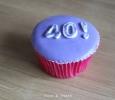 Cupcake 40 jaar
