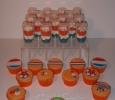 EK voetbal cupcakes en Hup Holland Hup Pushcakes