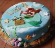 Kindertaart Disney's Kleine Zeemeermin